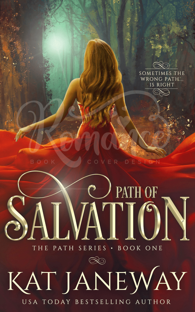 Paranormal Premade Fantasy Romance Book Cover