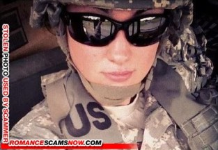 SCAMMER: Marry, 30 US ARMY Miami, FL, United States - photo stolen