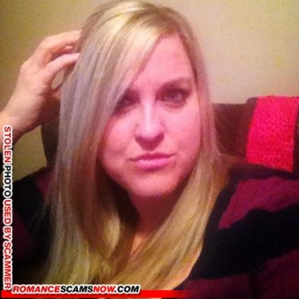 JESSICA_NATHAN1@YAHOO - Romance Scammer / Dating Scammer - Image Stolen From Real Person