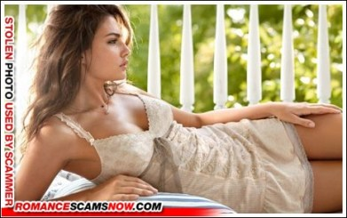 Sarah 3 - Romance Scammer / Dating Scammer - Image Stolen From Real Person