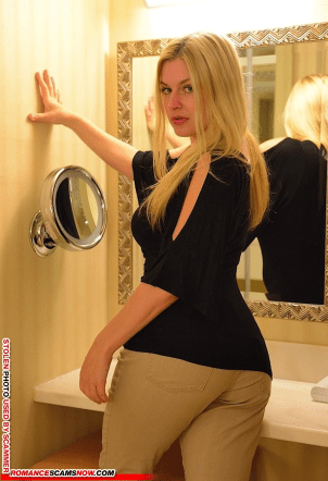 brendacharity80@yahoo - Romance Scammer / Dating Scammer - Image Stolen From Real Person