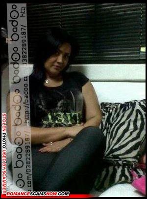 Sarah Crawford Crawfordsarah22@gmail.com - Badoo.com Scammer