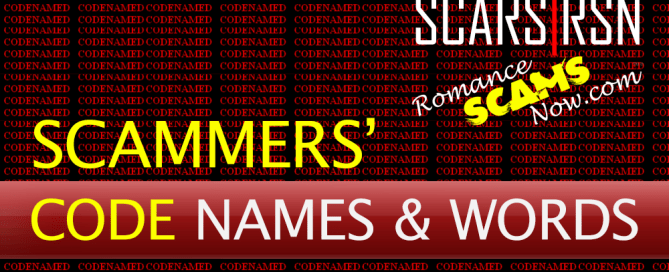 Scammer Code Names & Words
