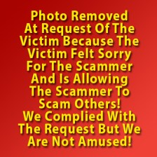 Dating scammer FLORA MAE ANGCON