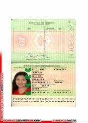 Selorm Lotamey - Ghana Passport H1068536
