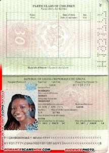 Senaki Rosemond - Ghana Passport H1931777