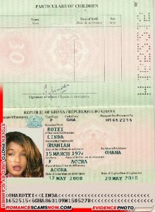 Linda Rotei - Ghana Passport H1652215