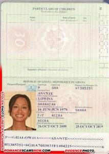 Lowisa Asante - Ghana Passport H1385251