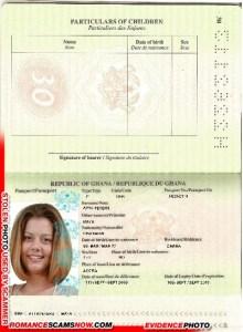 Maya Atta Petters - Ghana Passport H2262113