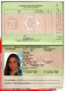 Esther Pokumaa - Ghana Passport H1527864