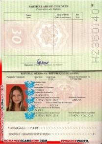 DArcy Evans - Ghana Passport H2360140