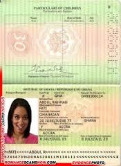 Fati Abdula Rahran - Ghana Passport GN91300124 [H1098239]