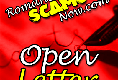Open Letter From Romance Scams Now