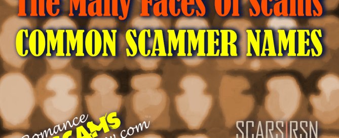 dating scammer lists