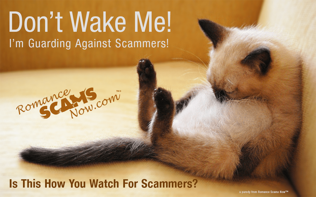 Wake Up & Watch For Scammers