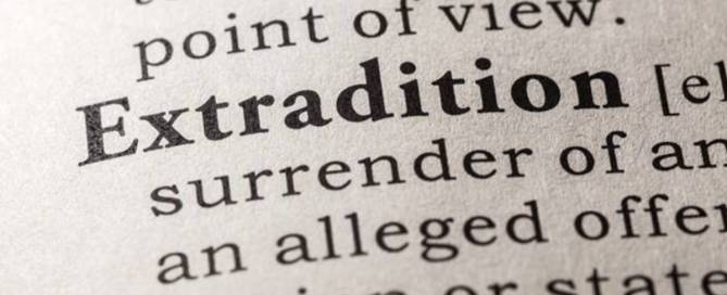 Extradition Of International Criminals