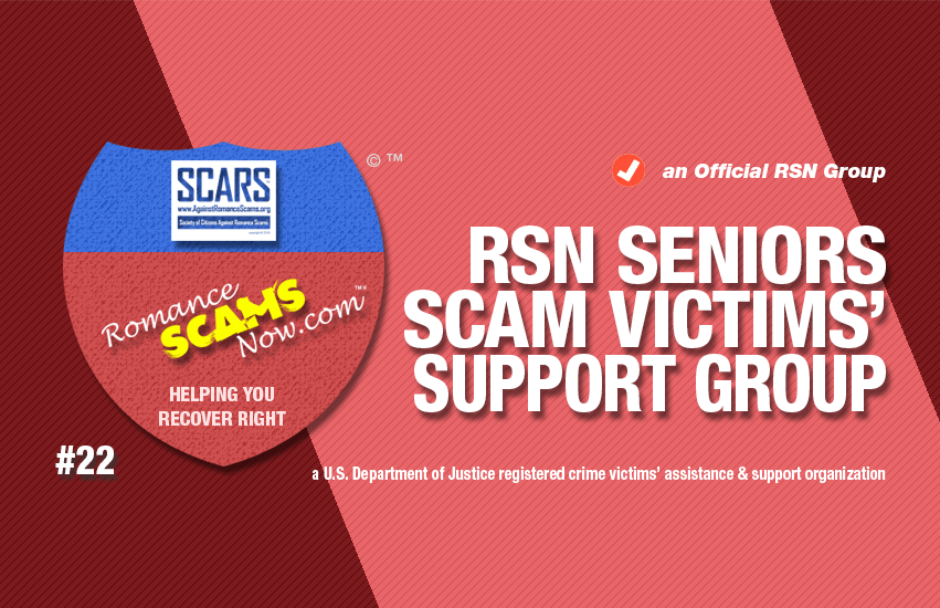 RSN™ Elderly & Senior Citizen Scams Victims Support Group #22