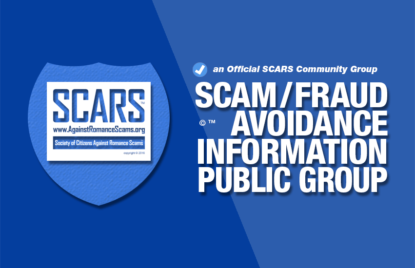 SCARS™ Official Scam Avoidance Education & Information