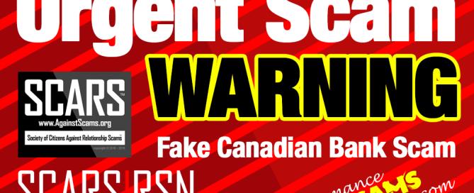 Urgent Scam Warning