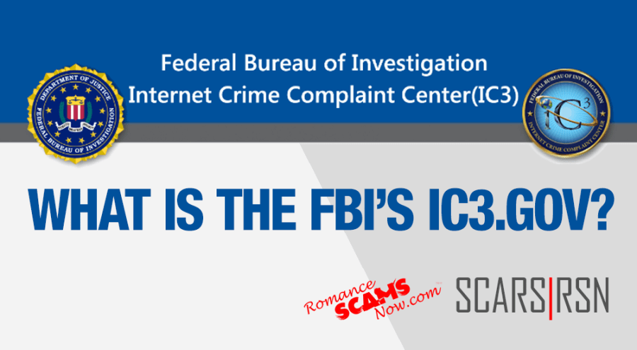 SCARS|RSN™ Insight: What Does The FBI's IC3.gov Actually Do?