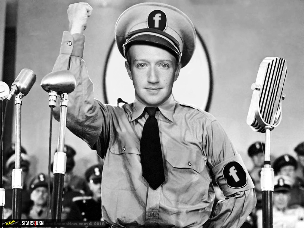 Stop The Facebook Dictator Mark Zuckerberg - Regulate Social Media Now!