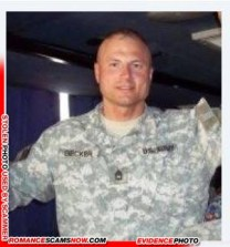 Sargent David Becker U S Army 18