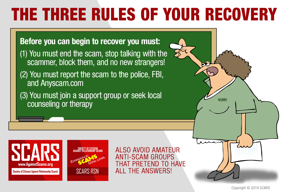 The SCARS Three Rules To Recover