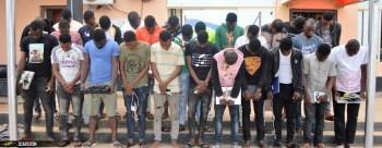 EFCC Arrests 27 Suspected Yahoo-Boys in Osogbo