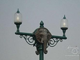 Chiang Mai street lamp