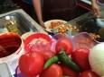 cooking at gto market