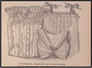 Mode Illustree Pattern Illustration, December 1902