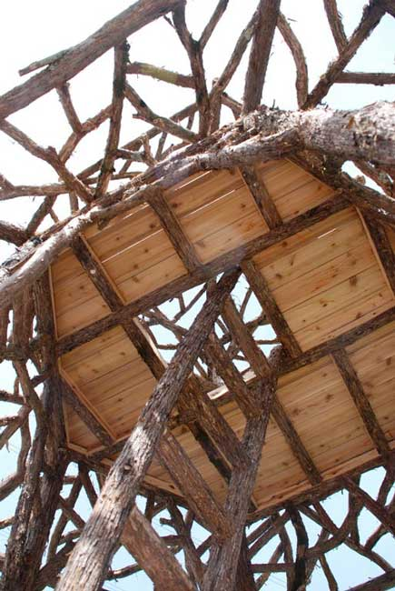 Rustic Tree Towers Wood Swing Sets Custom Play Forts