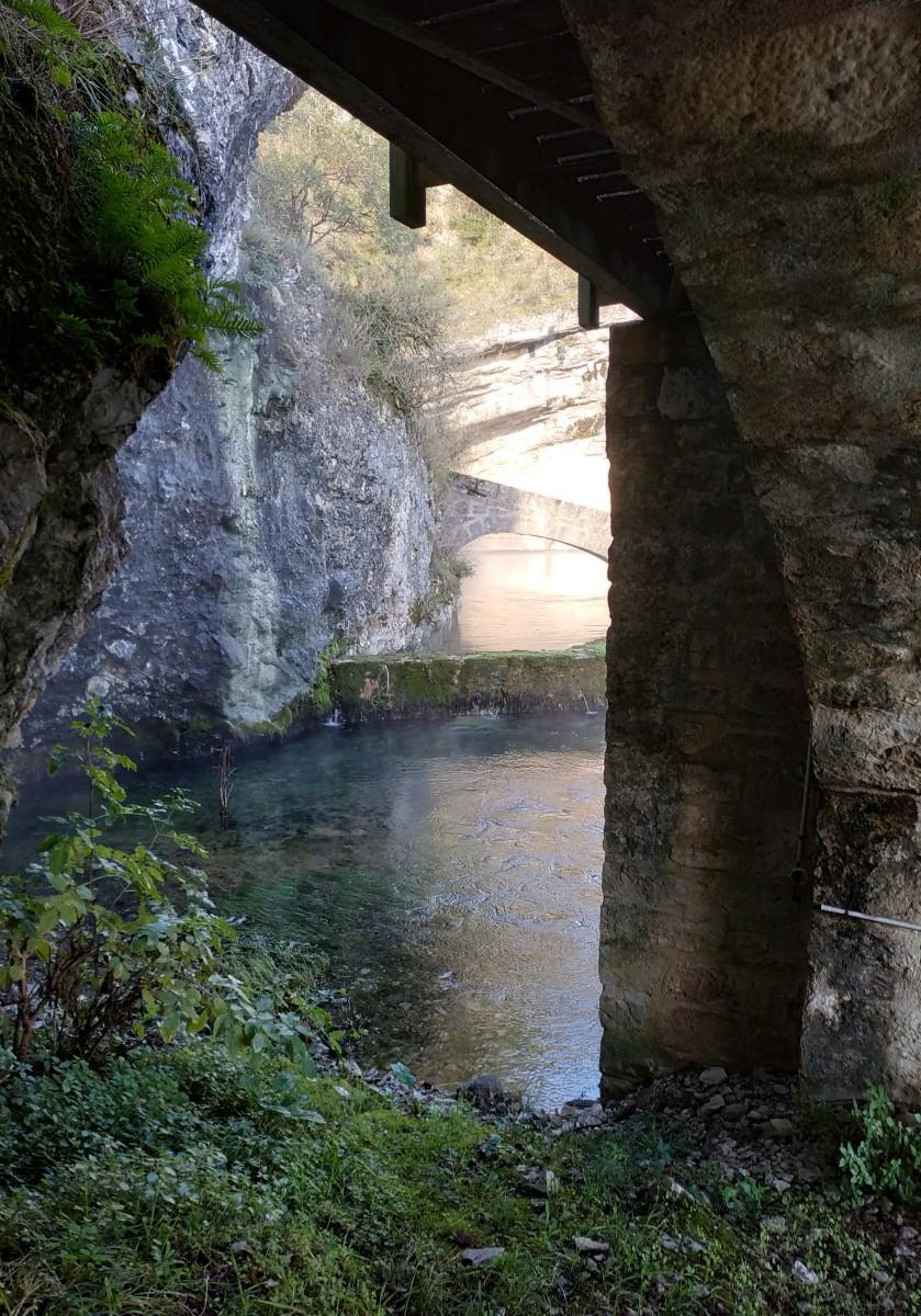 Cahors, Fontaine des Chartreux, 22 novembre 2019