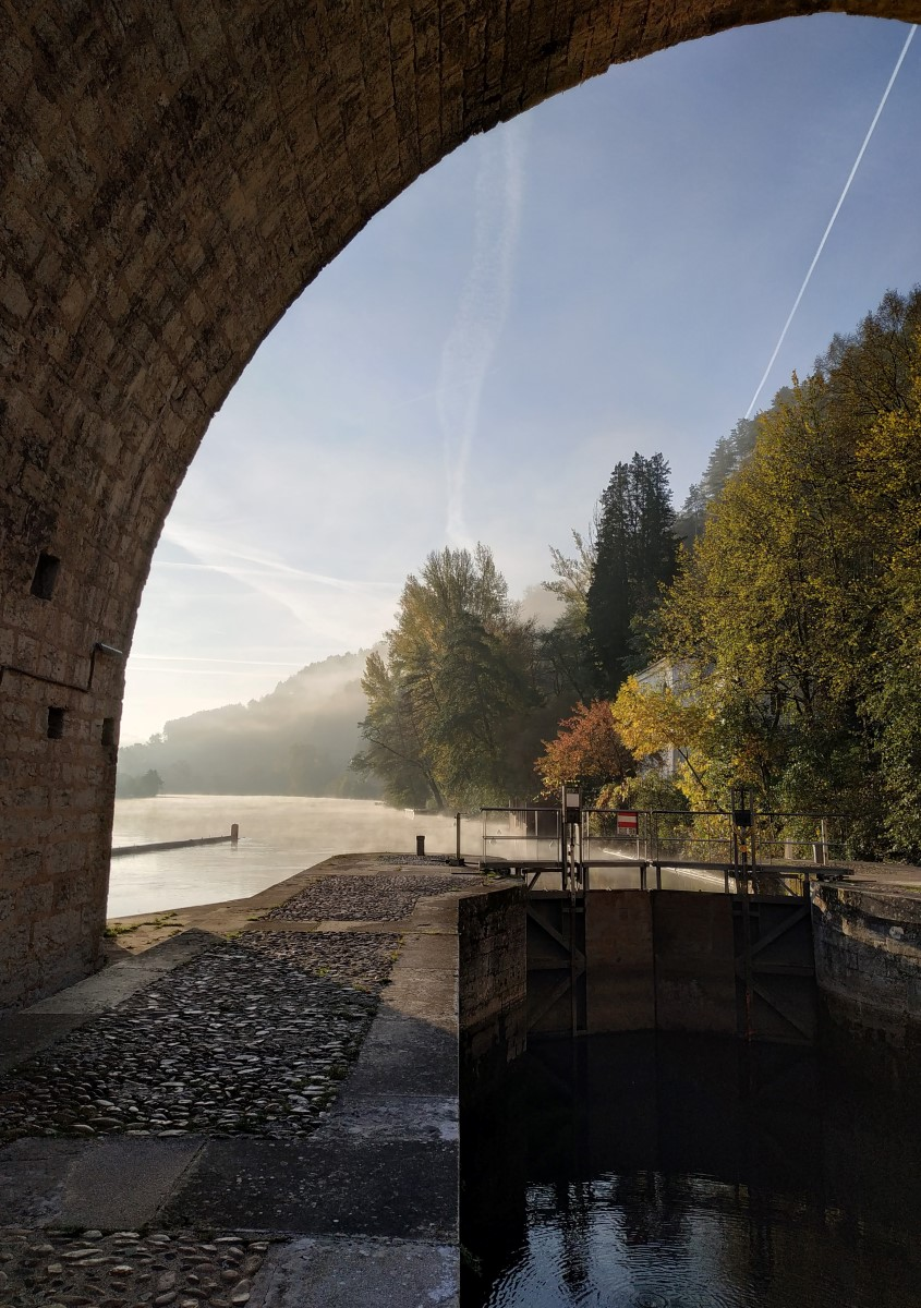 Cahors, Pont Valentré, 22 novembre 2019