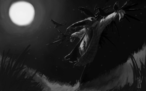 The Scarecrow | Made during a concept art workshop