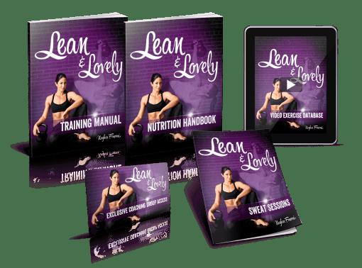 Lean & Lovely bundle - kettlebells for women