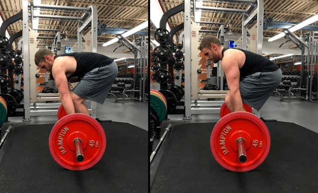 On the Left: lats not packed. On the Right: Lats packed.