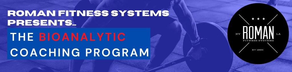 bioanalytic coaching supplement guide