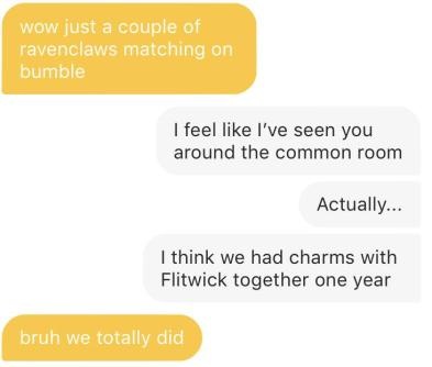 funny bumble conversation