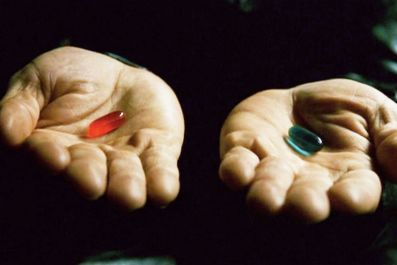 The Matrix's Red Pill Is the Internet's Delusional Drug