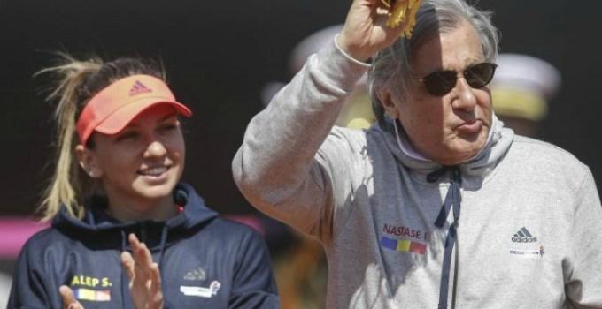 """Ilie Năstase i-a cerut Simonei Halep sa nu mai reprezinte România in circuitul WTA. I-am spus sa nu mai apară România in dreptul numelui tău! Pune mana si șterge!"""" 15"""