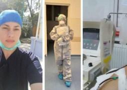 """Asistentă vindecată de coronavirus a donat plasmă hiperimună: """"Dacă poți face un bine, fă-l cu drag. Nu se știe niciodată la cine ajunge și poate o anumită persoană chiar are nevoie și poate fi salvată"""" 81"""