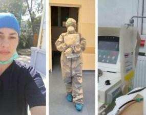 """Asistentă vindecată de coronavirus a donat plasmă hiperimună: """"Dacă poți face un bine, fă-l cu drag. Nu se știe niciodată la cine ajunge și poate o anumită persoană chiar are nevoie și poate fi salvată"""" 7"""