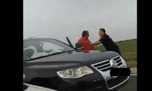 """Șofer român agresat de vameșii maghiari, la Nădlac: """"Eram cu copilul și soția, care e gravidă"""" 25"""