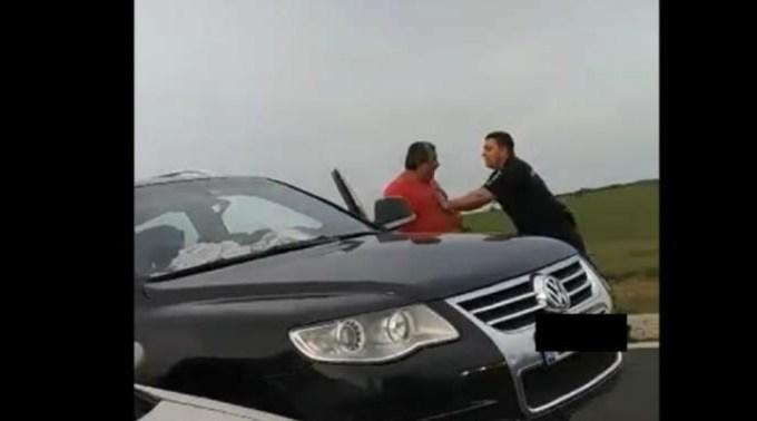 """Șofer român agresat de vameșii maghiari, la Nădlac: """"Eram cu copilul și soția, care e gravidă"""" 1"""