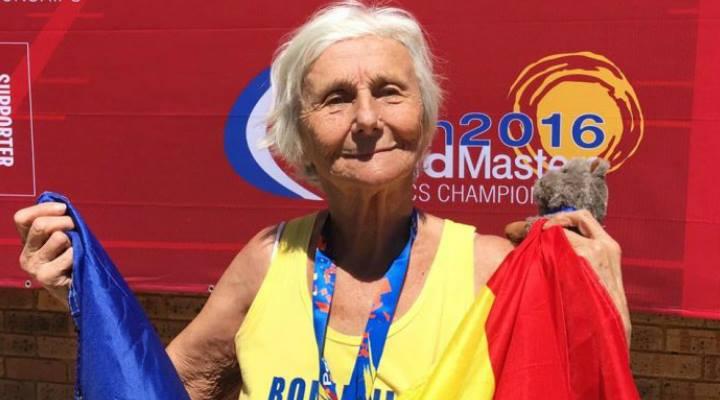 """FELICITĂRI! O Româncă de 90 de ani a câștigat medalia de aur la 5.000 de metri la o competiție din Australia: """"Când alerg, mă simt liberă"""" 1"""