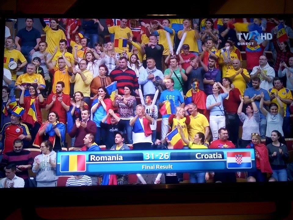 (Foto) FELICITĂRI! România a învins și Croația și s-a calificat în grupele principale!