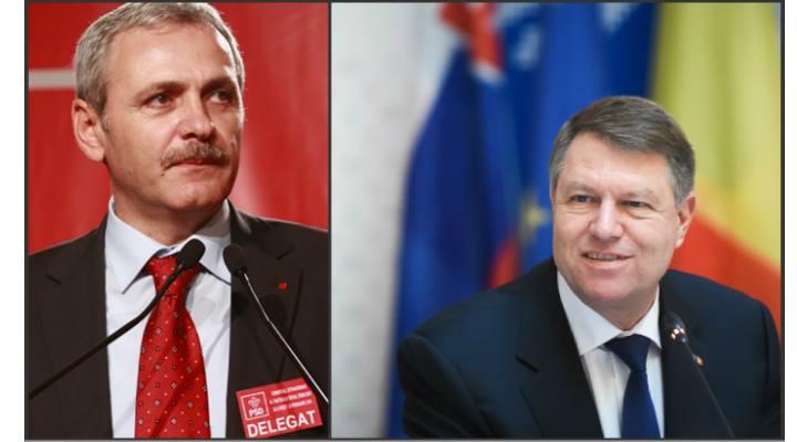 """Klaus Iohannis l-a """"lovit"""" iar pe Liviu Dragnea după ce acesta s-a lăudat că a fost invitat de Donald Trump la ceremonia de învestitură. Vezi ce a zis președintele României:"""