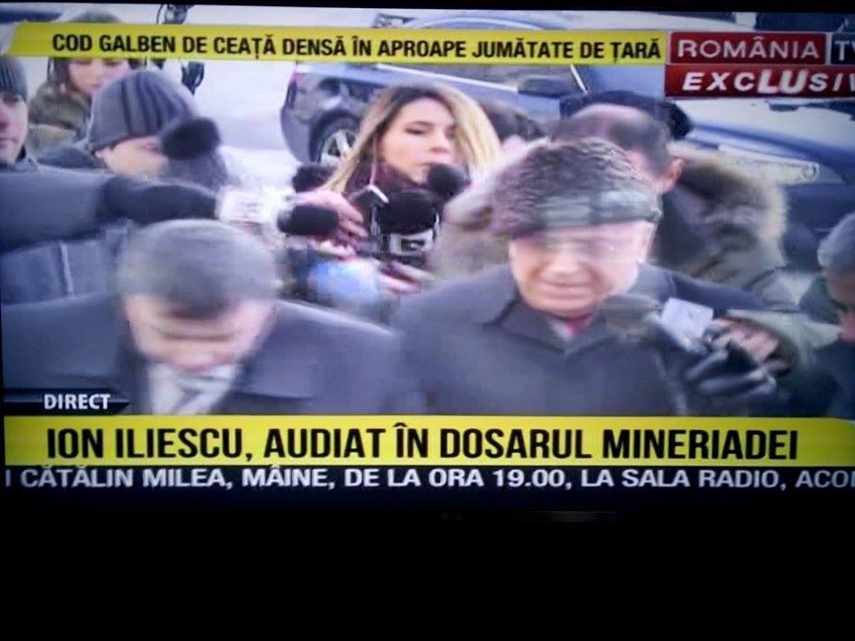 Ion Iliescu AUDIAT de procurori în aceste momente pentru infracţiuni contra umanităţii. Crezi că va fi condamnat la 25 de ani de închisoare?