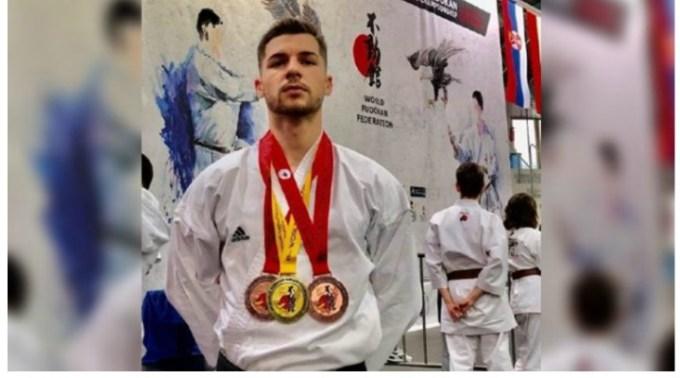 FELICITĂRI! Polițist român, medaliat cu aur la Campionatul Mondial de Karate Fudokan din Germania 1